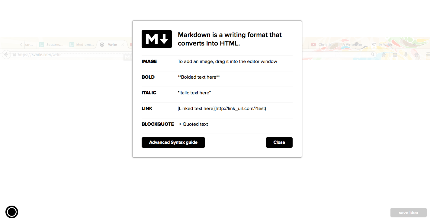 Use custom markdown to customize text.
