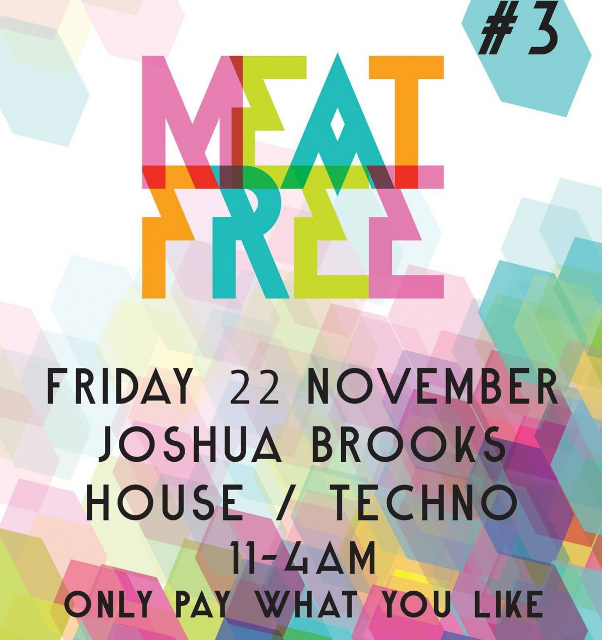 Meat Free are throwing a free party this Friday at  Joshua Brooks  - secure your free entry  here