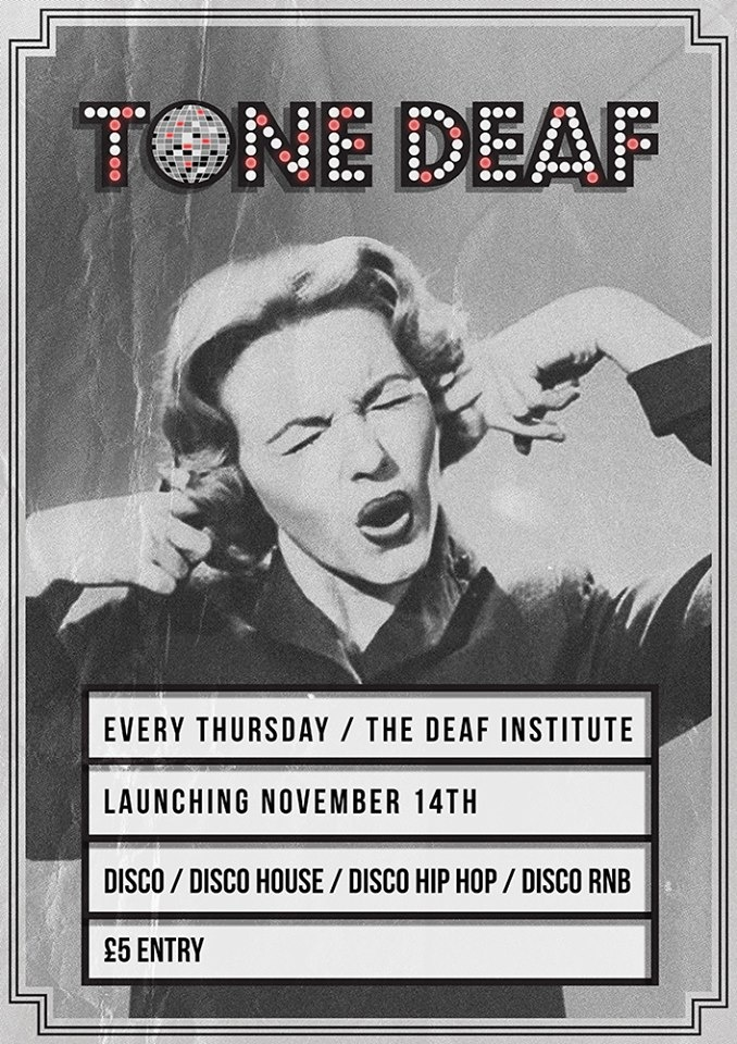 Tone Deaf  this Thursday at  The Deaf Institute  - early birds available  here