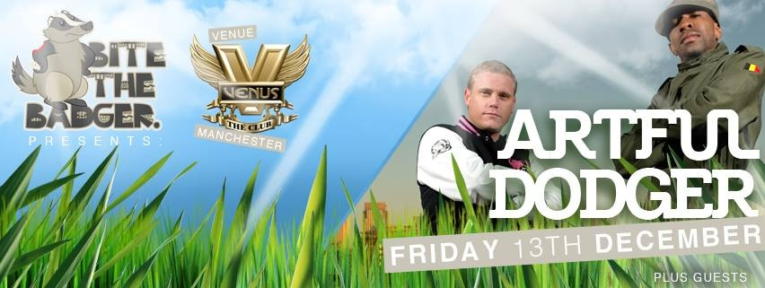 ARTFUL DODGER at Venus this Friday!! Advanced tickets  here