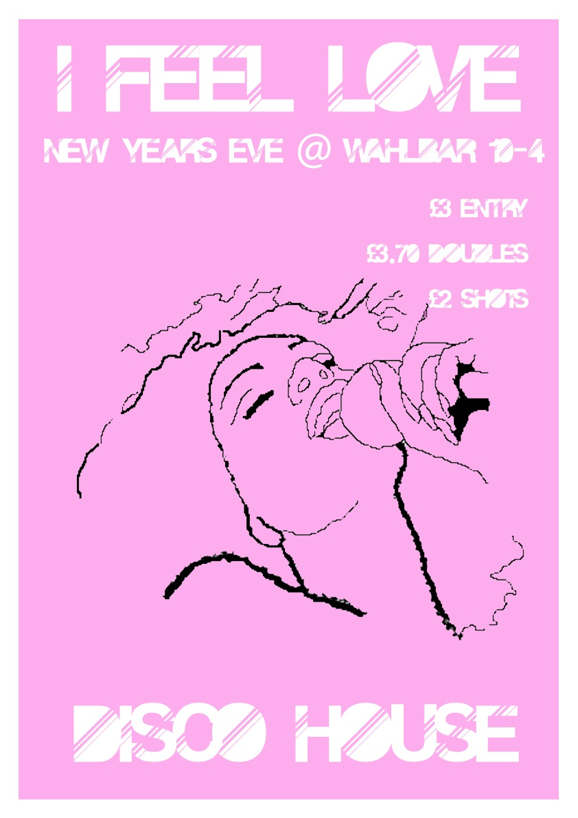 I Feel Love come to Wahlbar for a great night of NYE fun! Limited advanced entry tickets  here