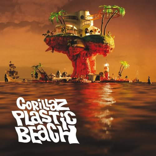 Gorillaz-Plastic Beach (Album Cover)