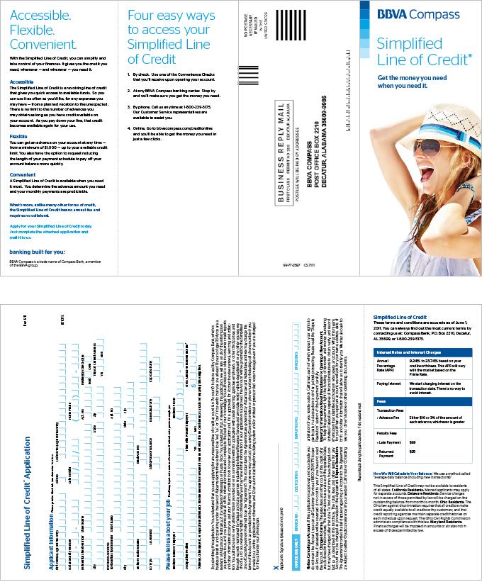In-Branch Application Brochure