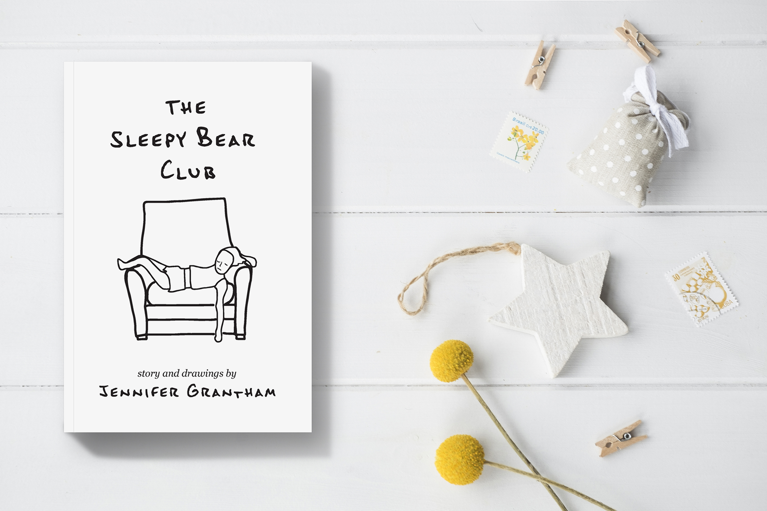 The Sleepy Bear Club children's bedtime story by Jennifer Grantham