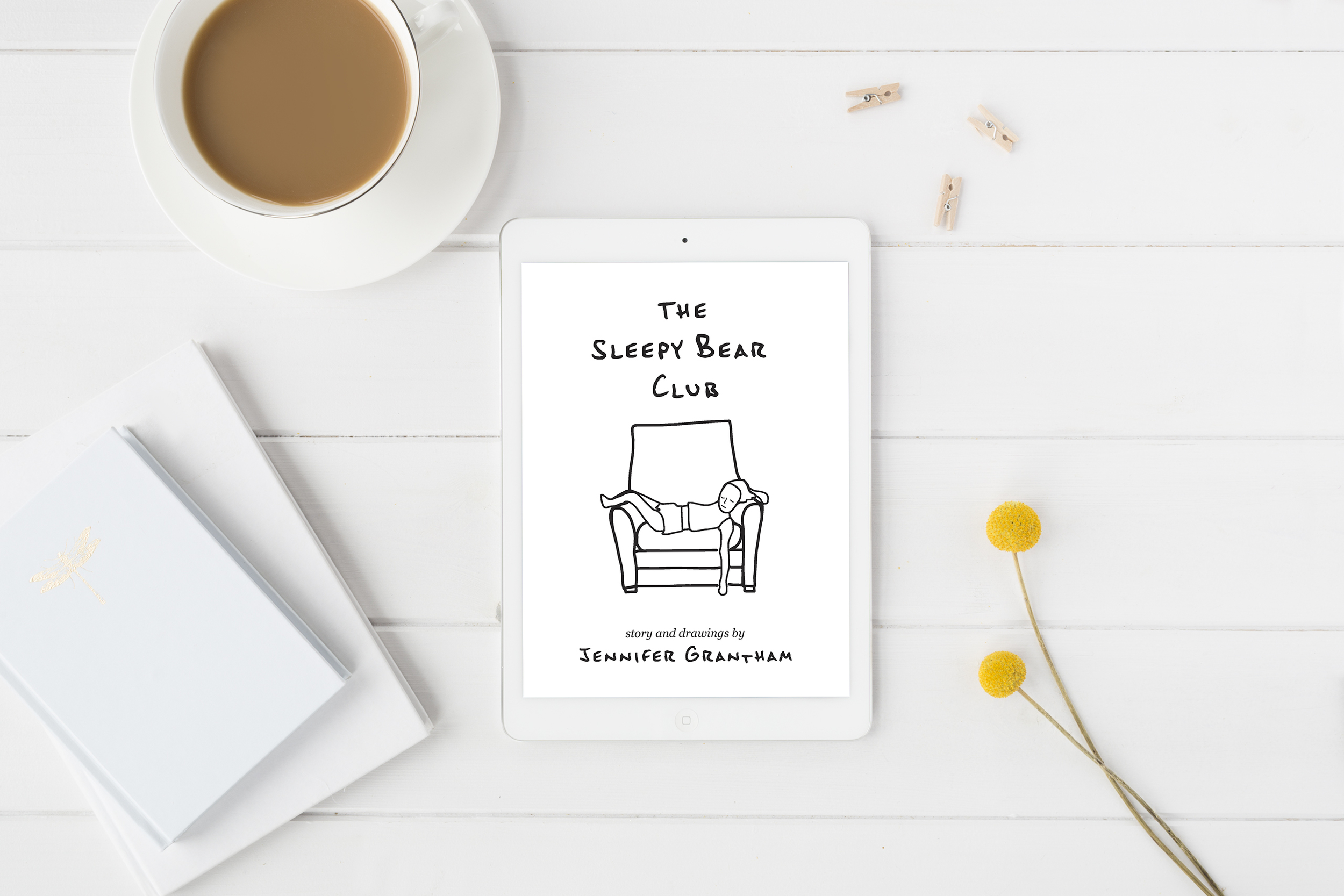 The Sleepy Bear club iBook