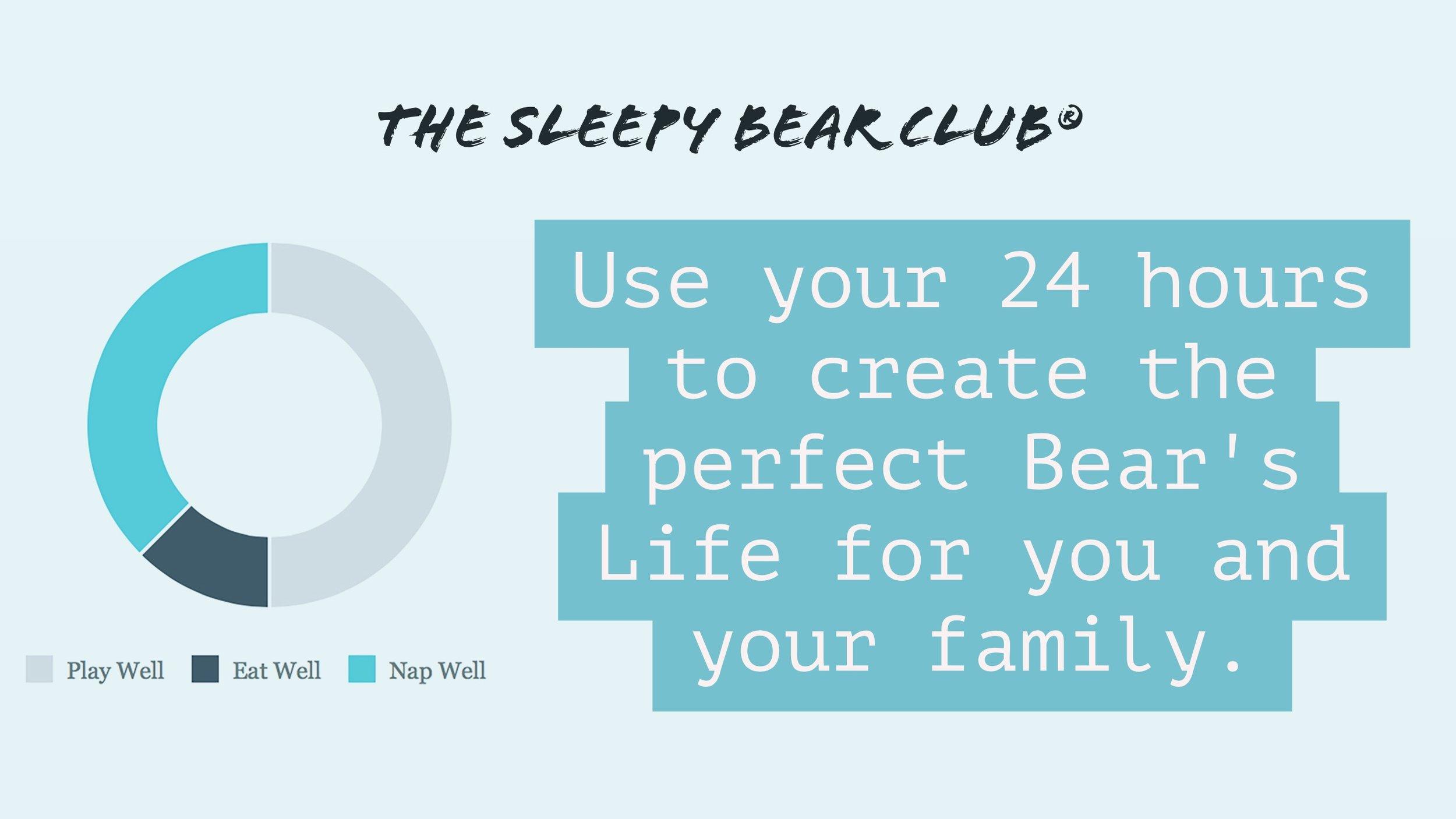 A Bear's Life with The Sleepy Bear Club by Jennifer Grantham
