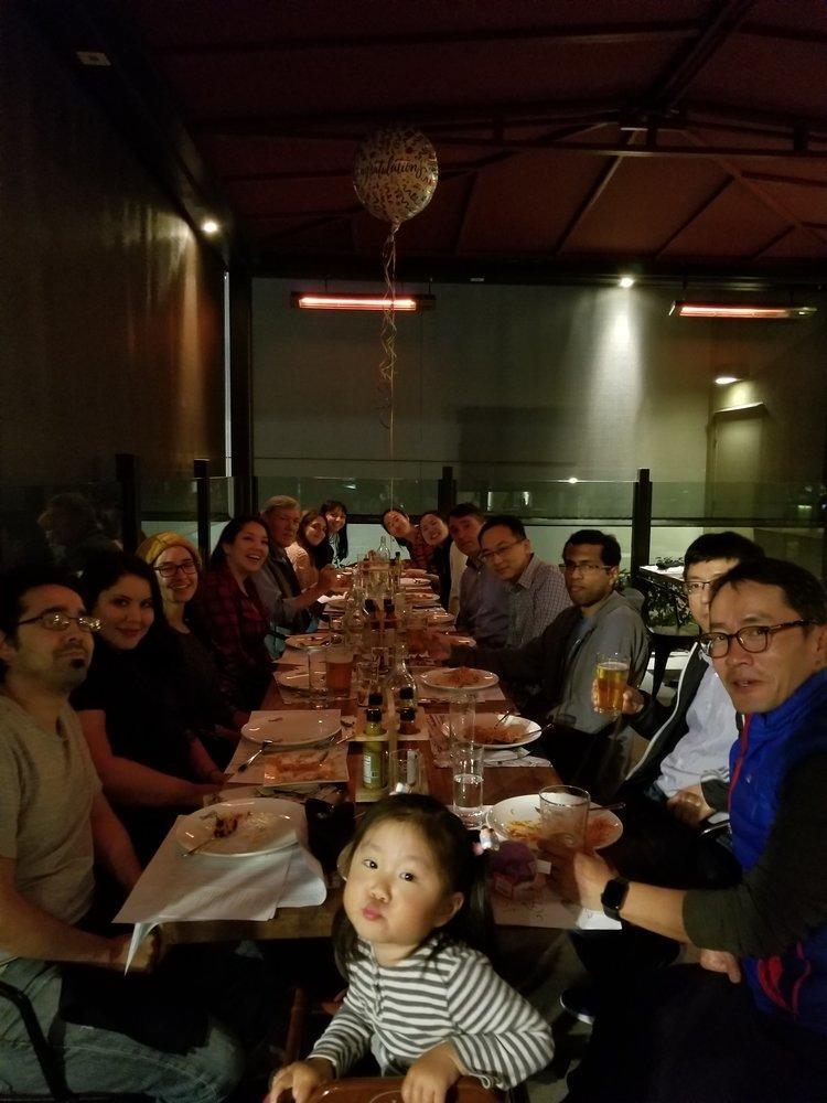Dasa's farewell dinner. Feb. 2019