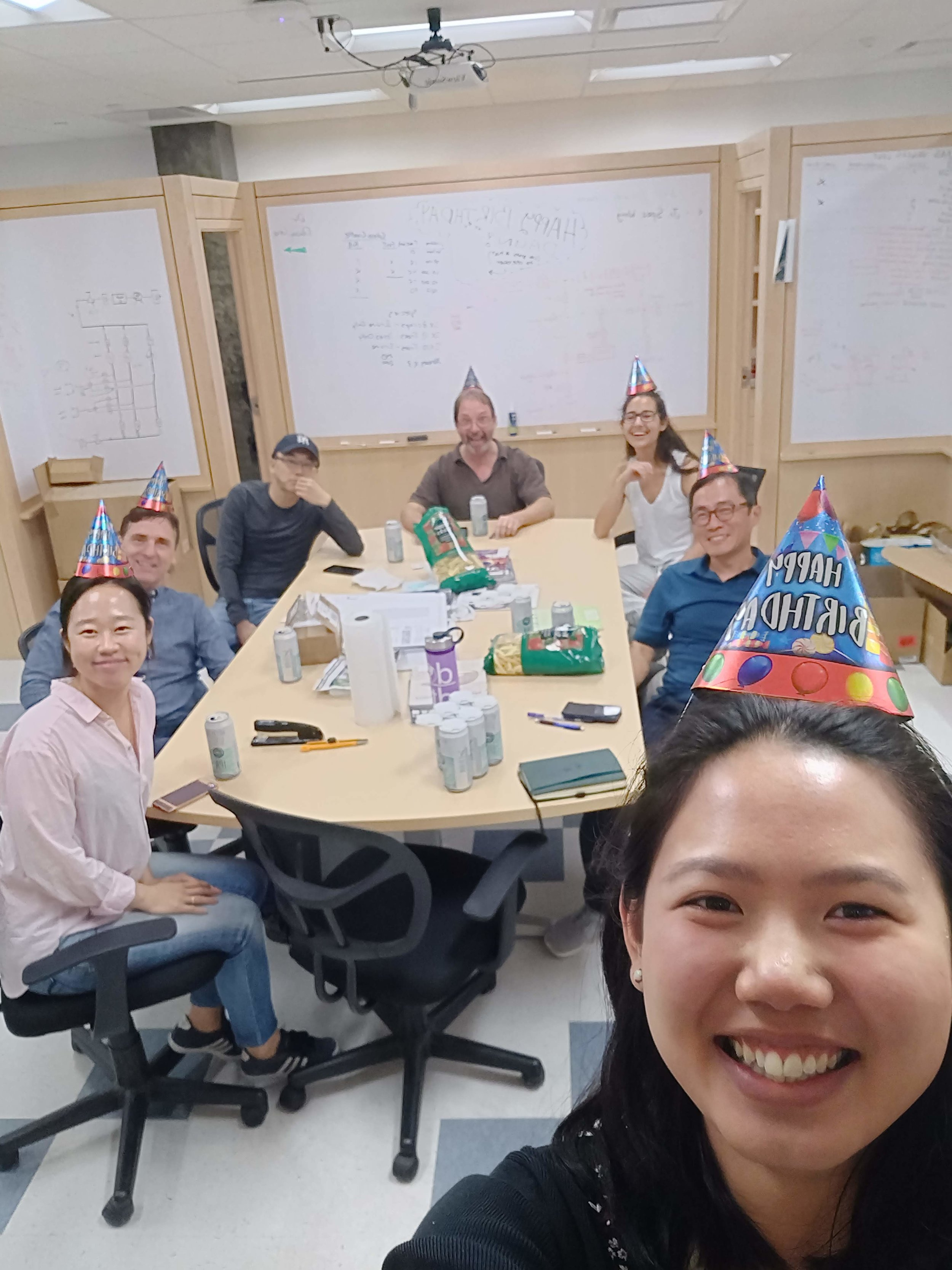 Birthday meeting!