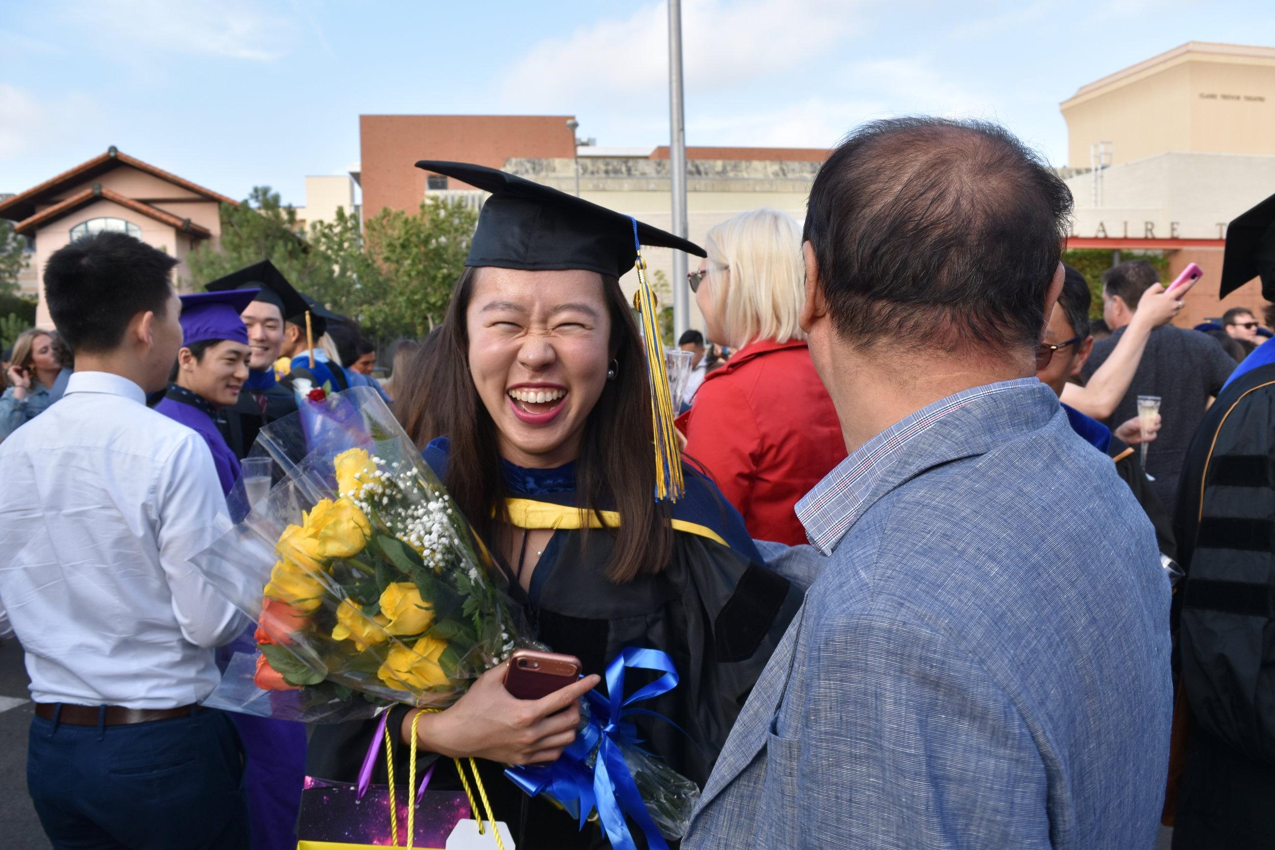 Our sunshine Daun graduated!