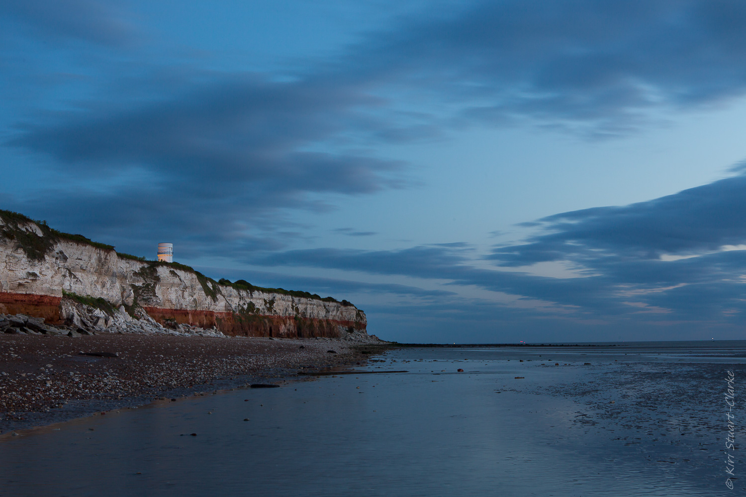 An 8 second exposure of Hunstanton Lighthouse at f-16 and ISO 200