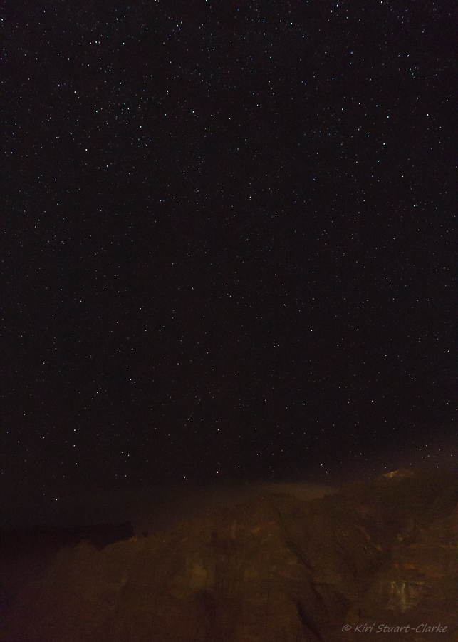 Taken over 4 seconds at f4.0 and ISO 6400