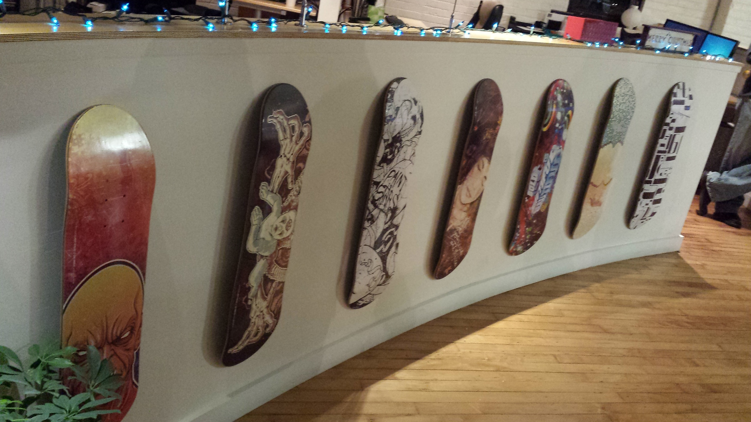 Awesome boards by Go Media's Jeff Finley.