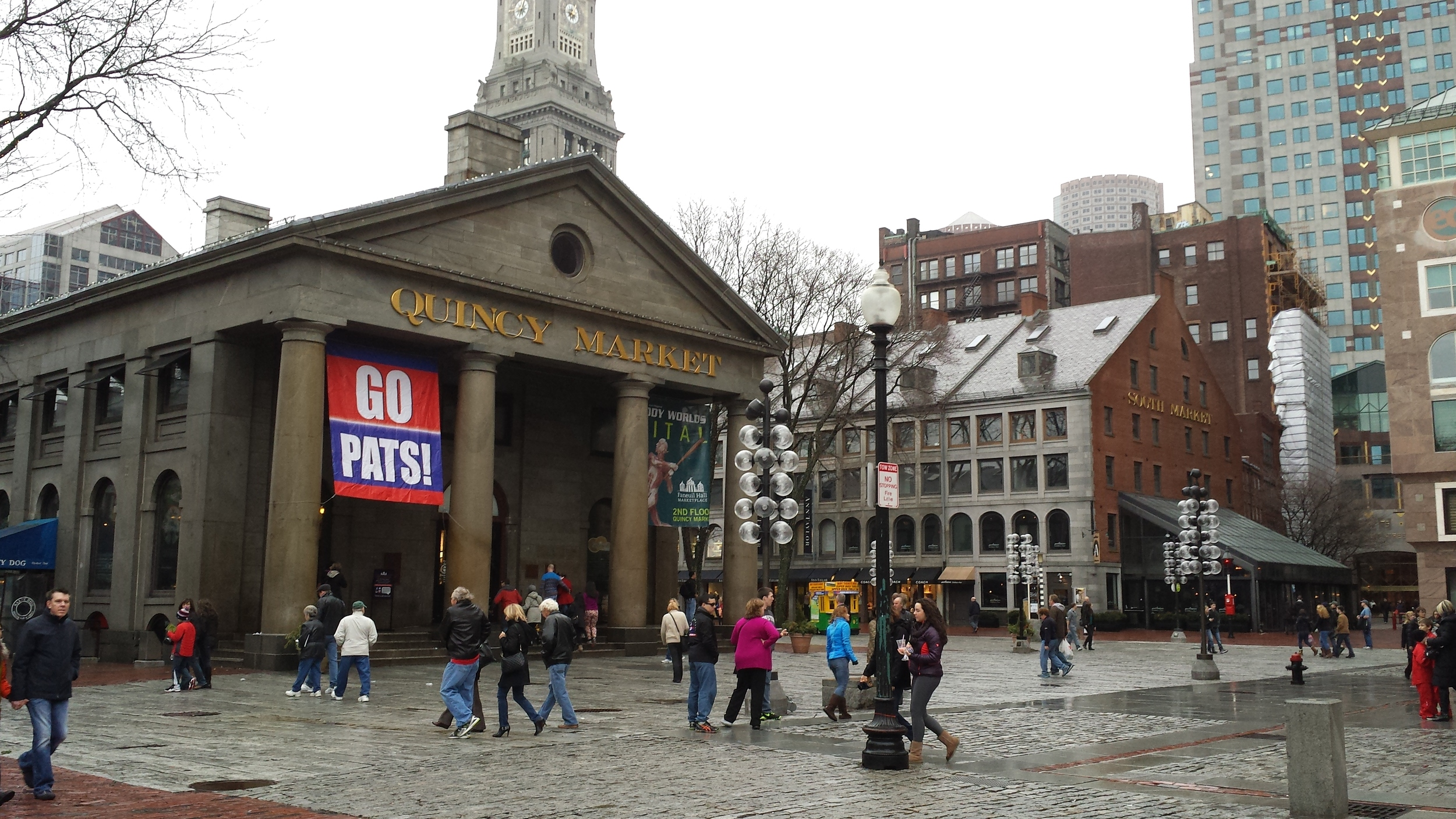 Faneuil Hall Marketplace.
