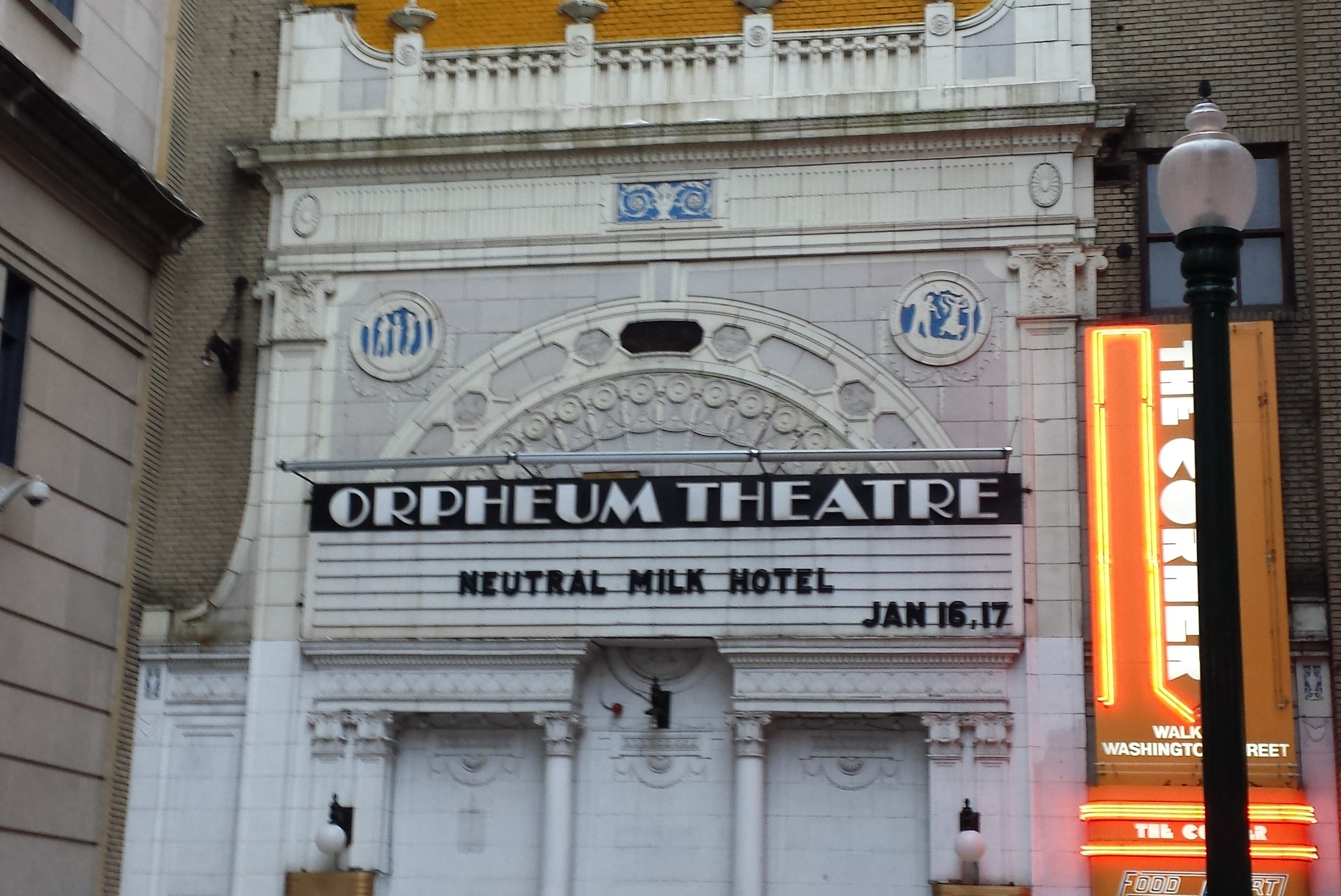 The beautiful Orpheum Theatre