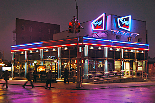 Kellogg's Diner in Williamsburg