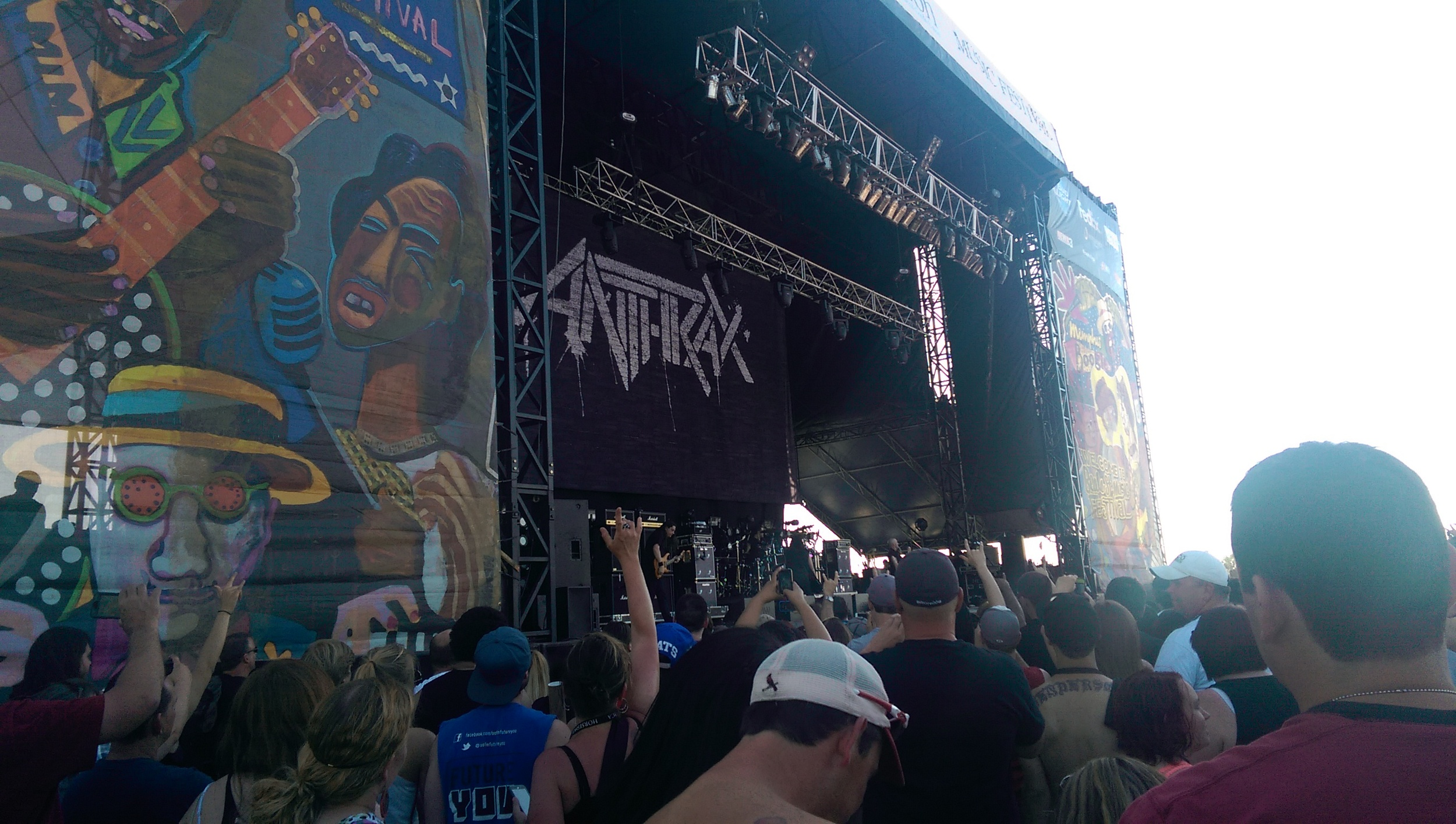 Anthrax @ The Beale Street Music Festival