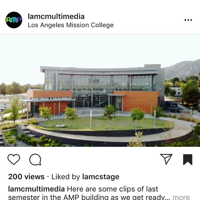 Check out this video by @lamcmultimedia Link in bio or copy: https://www.instagram.com/p/Bm7VMwanJ42/?utm_source=ig_web_copy_link  As #architects, it is always gratifying to see a #building we've designed being used to its fullest potential. We hope the students and faculty at @lamissioncollege, @lamcmultimedia and @lamcstage are enjoying the second year in their new building! #architecture #design #qdgarchitecture