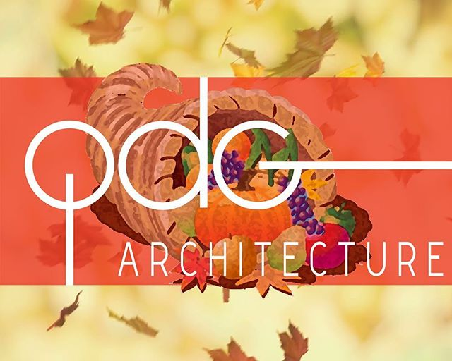 Happy #Thanksgiving! We hope everyone is enjoying the #holiday by spending time with #family and #friends over a good meal. #happythanksgiving #turkeyday #qdgarchitecture