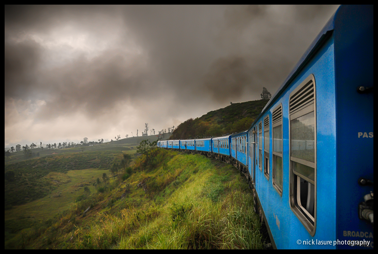 Riding the Rails - one of the joys of visiting Sri Lanka is the riding the train through the high mountain jungles and tea plantations with stunning views while trying to spot monkeys. If you ever find yourself in SL, I highly recommend not riding in a first class air conditioned car, but rather enjoy the open windows and feeling of freedom in 2nd or 3rd class. The experience is far more rich and allows you to really the ride.