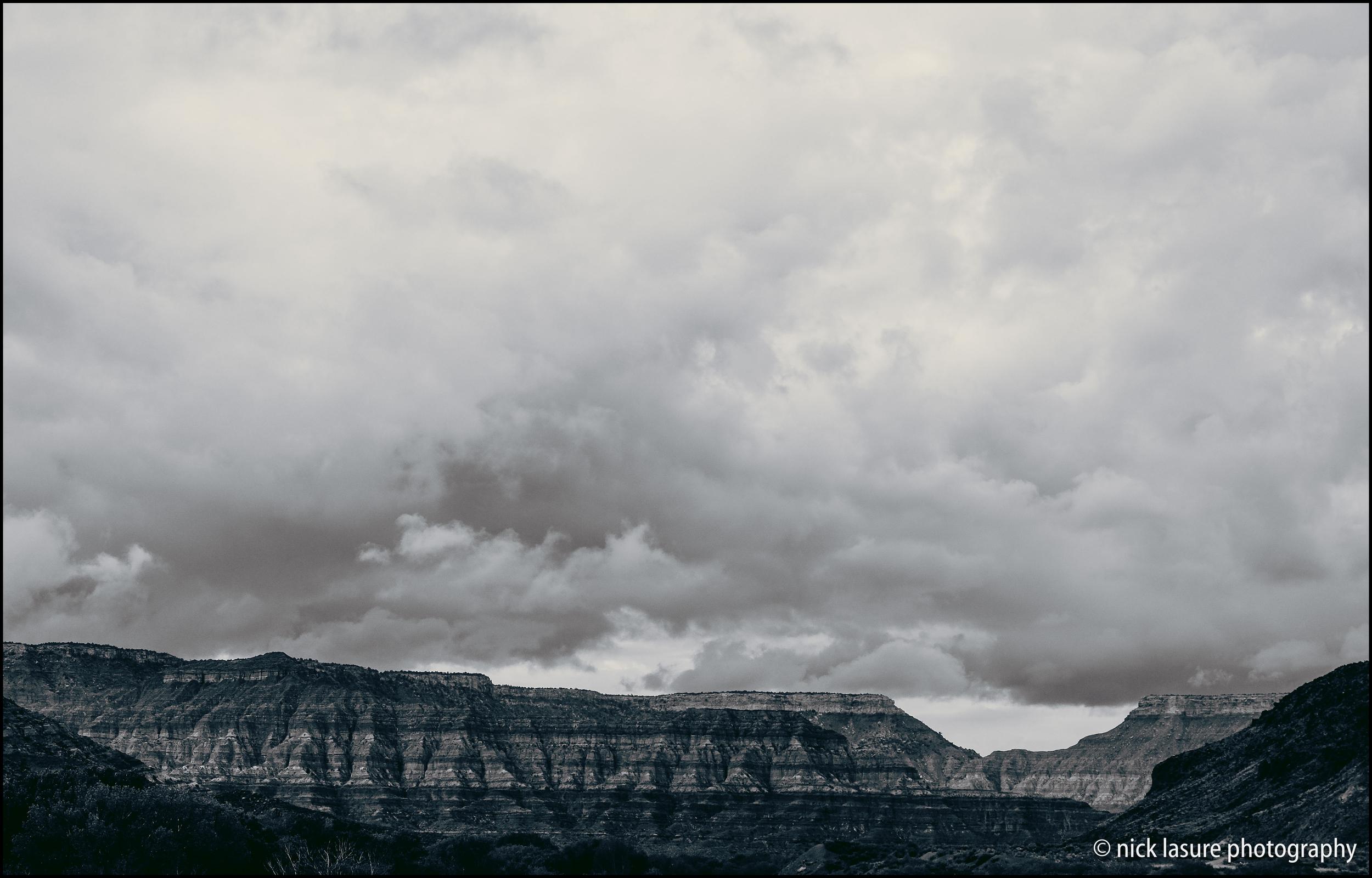 Mesas & Clouds - Fuji X-T1