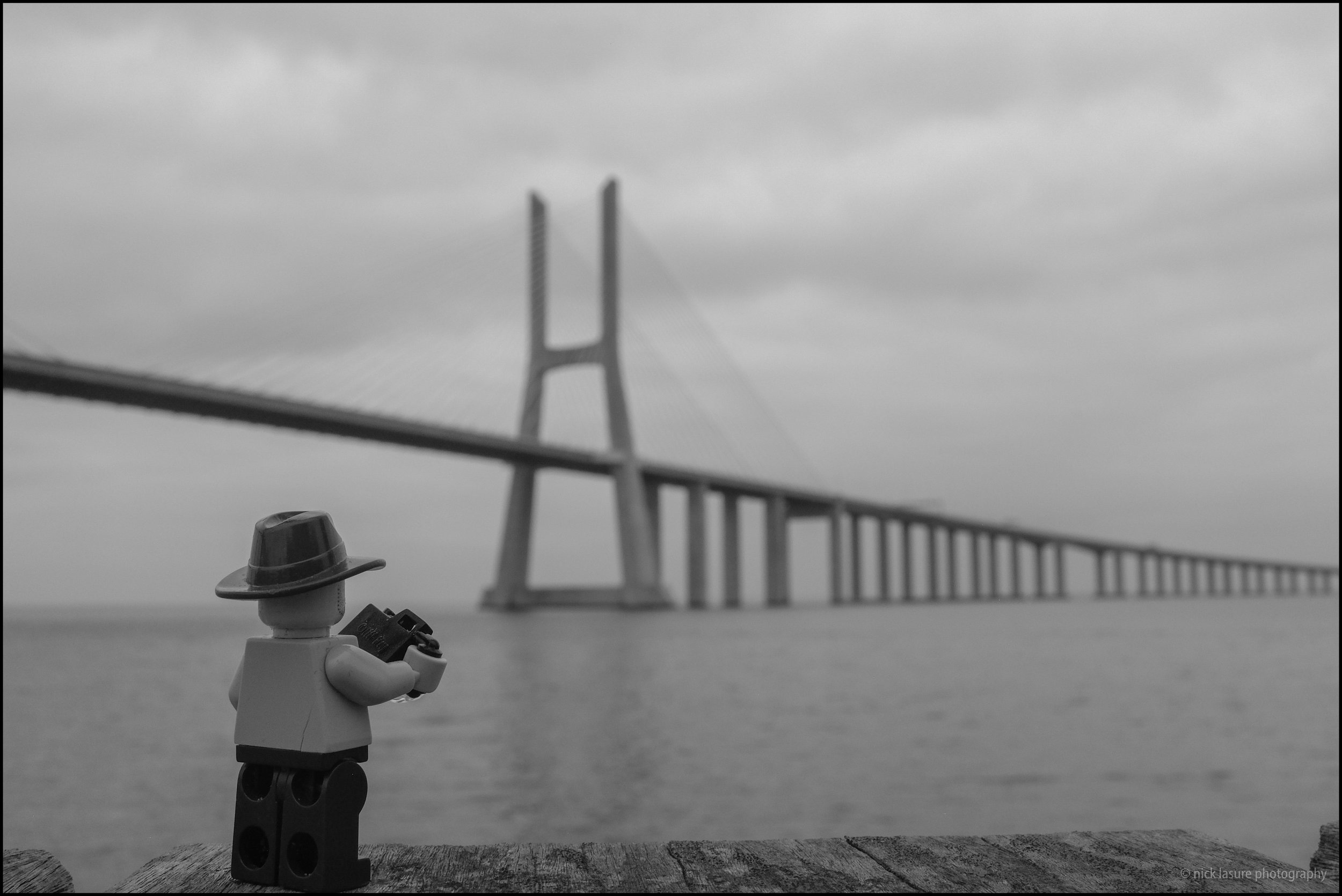 Of course Photo Lego Dude needed his shot of the bridge - X100T