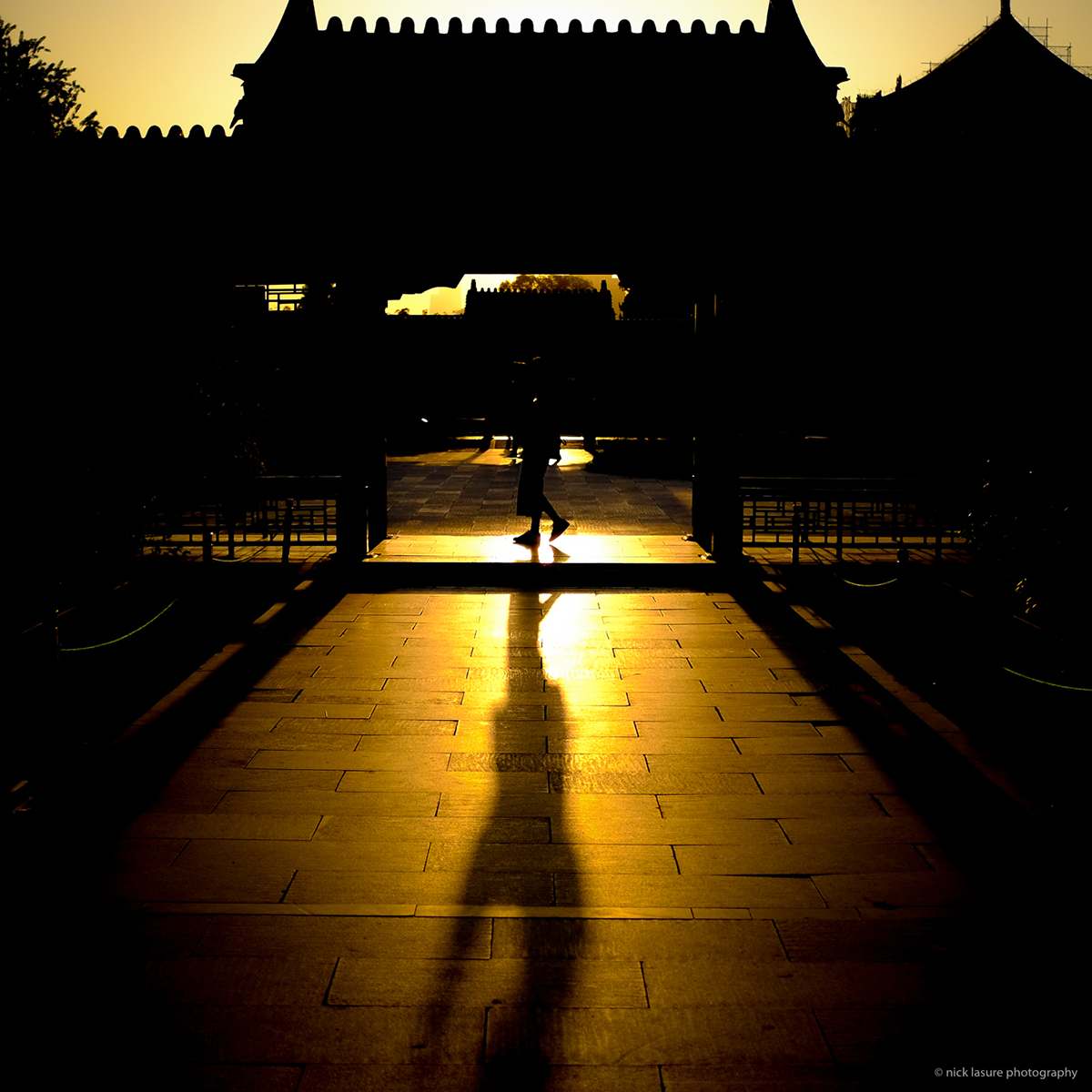 Exploring the Forbidden City at sunrise | Fuji X100T