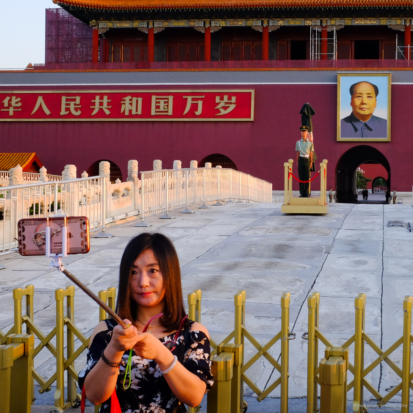 Land of the Selfie, not sure Mao would approve | Fuji X100T
