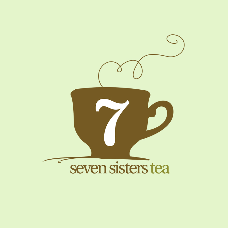 Seven Sisters Tea Branding and Site Design