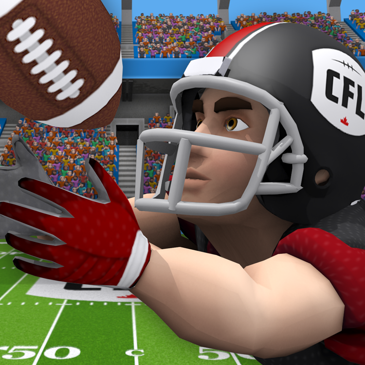 CFL Football Frenzy iPad/iPhone Application Design
