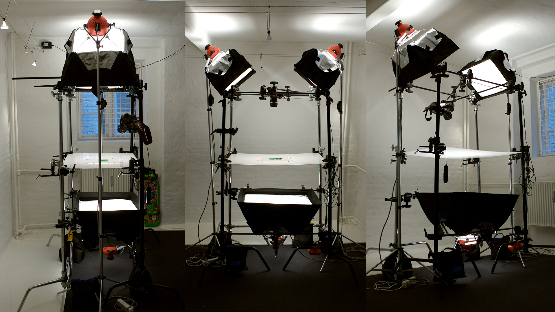 Staging & lighting for stop motion.