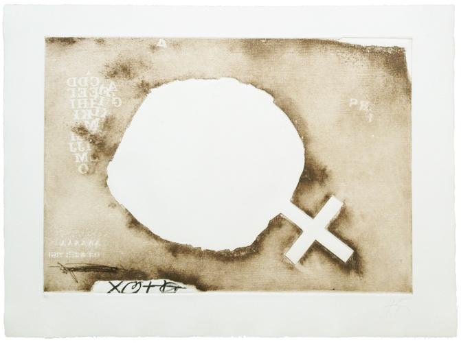 Paper Cremat | 1975 | Gravura em metal | Edição 75 | 56 x 76 cm