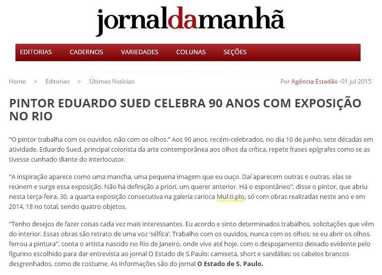 MUL.TI.PLO ESPAÇO ARTE NO JORNAL DA MANHÃ - PARANÁ 01-07.JPG