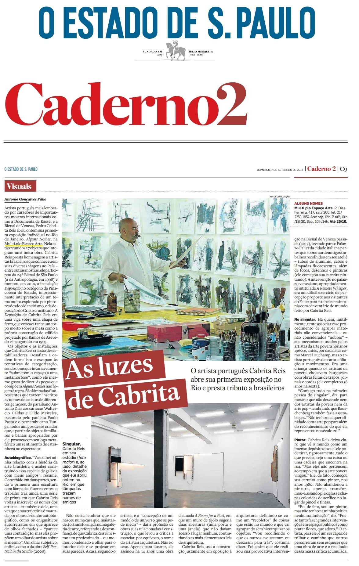 MUL. TI. PLO ESPAÇO ARTE NO CADERNO 2 - ESTADÃO 07.09.jpg