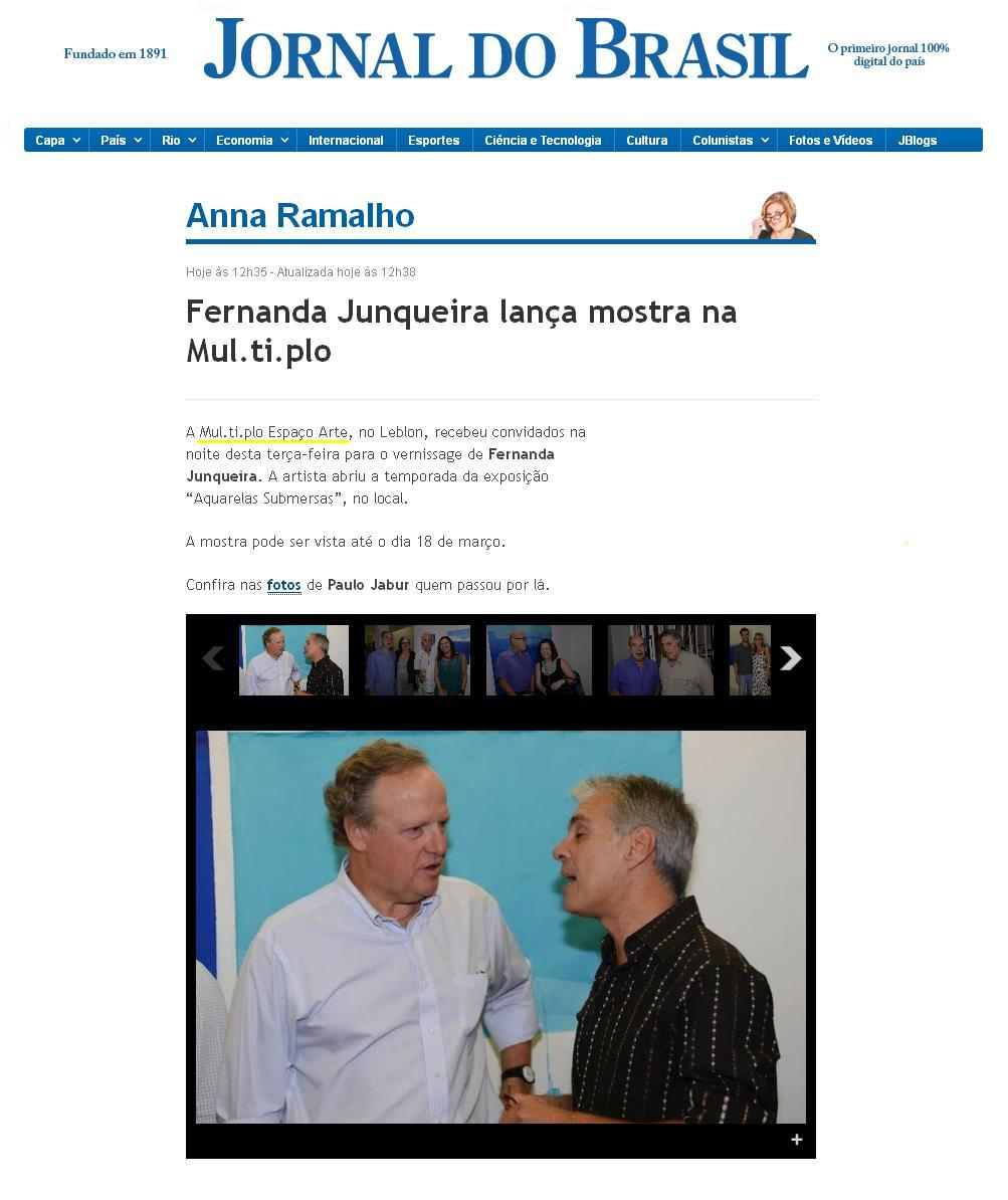 MUL.TI.PLO ESPAÇO ARTE NO JORNAL DO BRASIL 19.02.2014.JPG