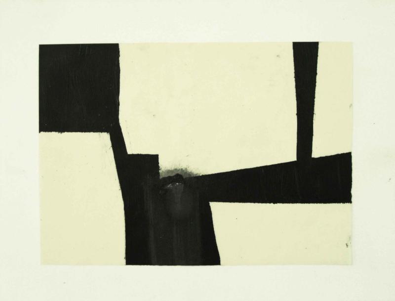 S/ título | 2011 | Desenho - Nanquim e grafite sobre papel | 25 x 35 cm