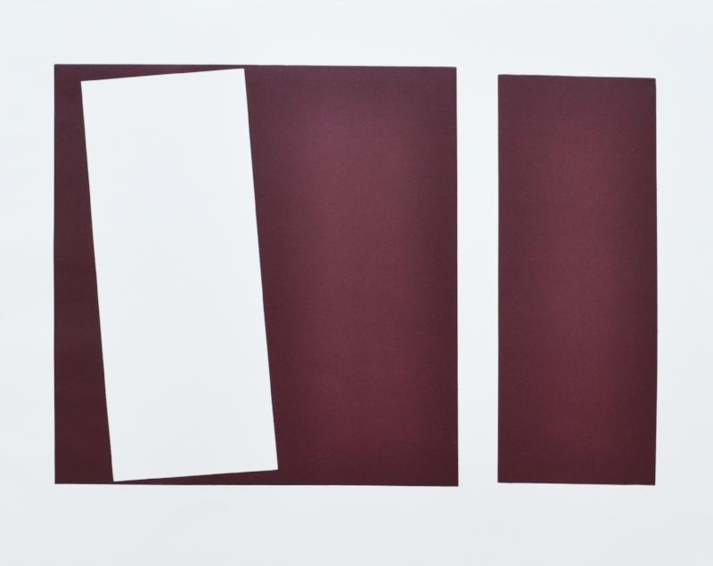 S/ título | 2015 | Gravura em relevo papel Rives Canson | Edição 20 | 50 x 63 cm - EDIÇÃO EXCLUSIVA