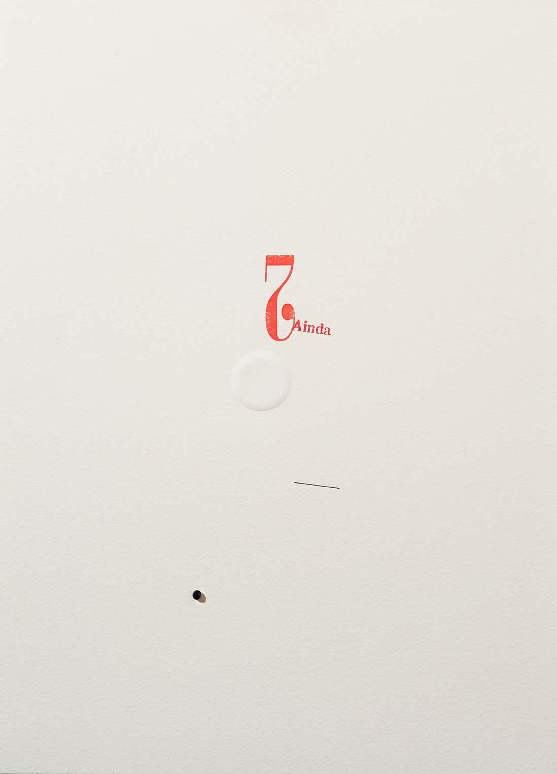 Copy of Sem título | 2014 | desenho | nanquim, carimbo, relevo e resina sobre papel | 36 x 25,5 x 0,6 cm (sem moldura) | 50,5 x 40,5 x 5,5 cm (com moldura)