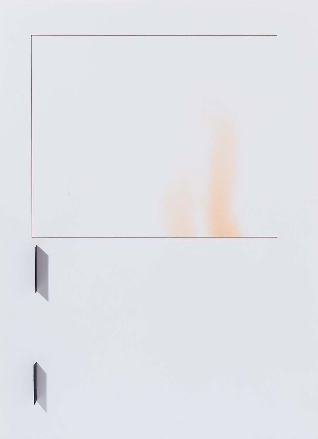 Copy of Sem título | 2015 | desenho | nanquim, pastel e colagem sobre papel |42 x 29,5 x 2 cm (sem moldura) |56,5 x 44,5 x 5,5 cm (com moldura)