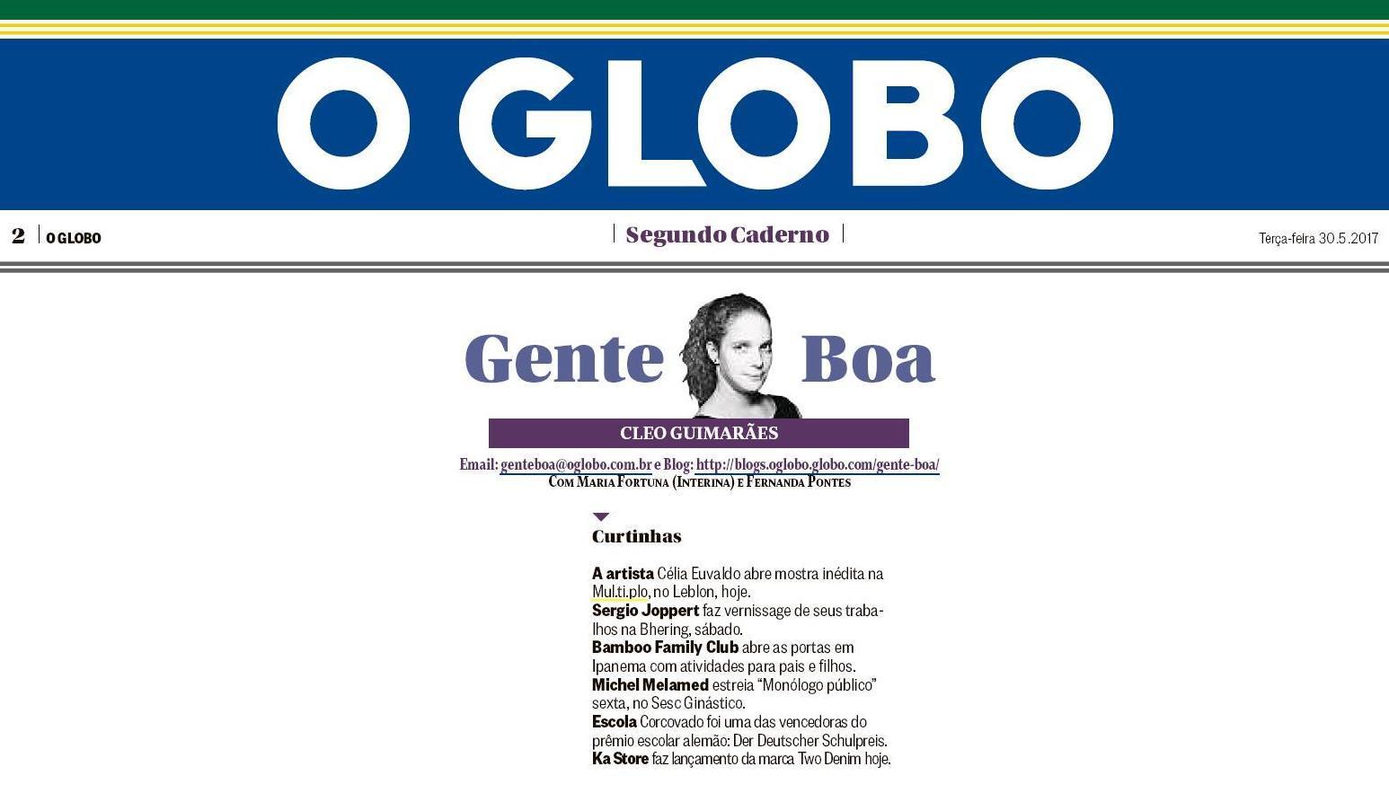 MUL.TI.PLO ESPAÇO ARTE NO GLOBO - COLUNA GENTE BOA 30-05.JPG