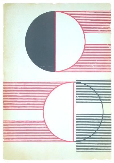 Sunrays 1 | 2019 | Litografia | 100x70 cm | Edição 20