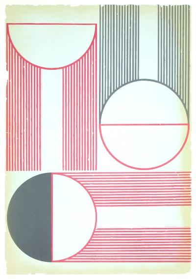 Sunrays 4 | 2019 | Litografia | 100x70 cm | Edição 20