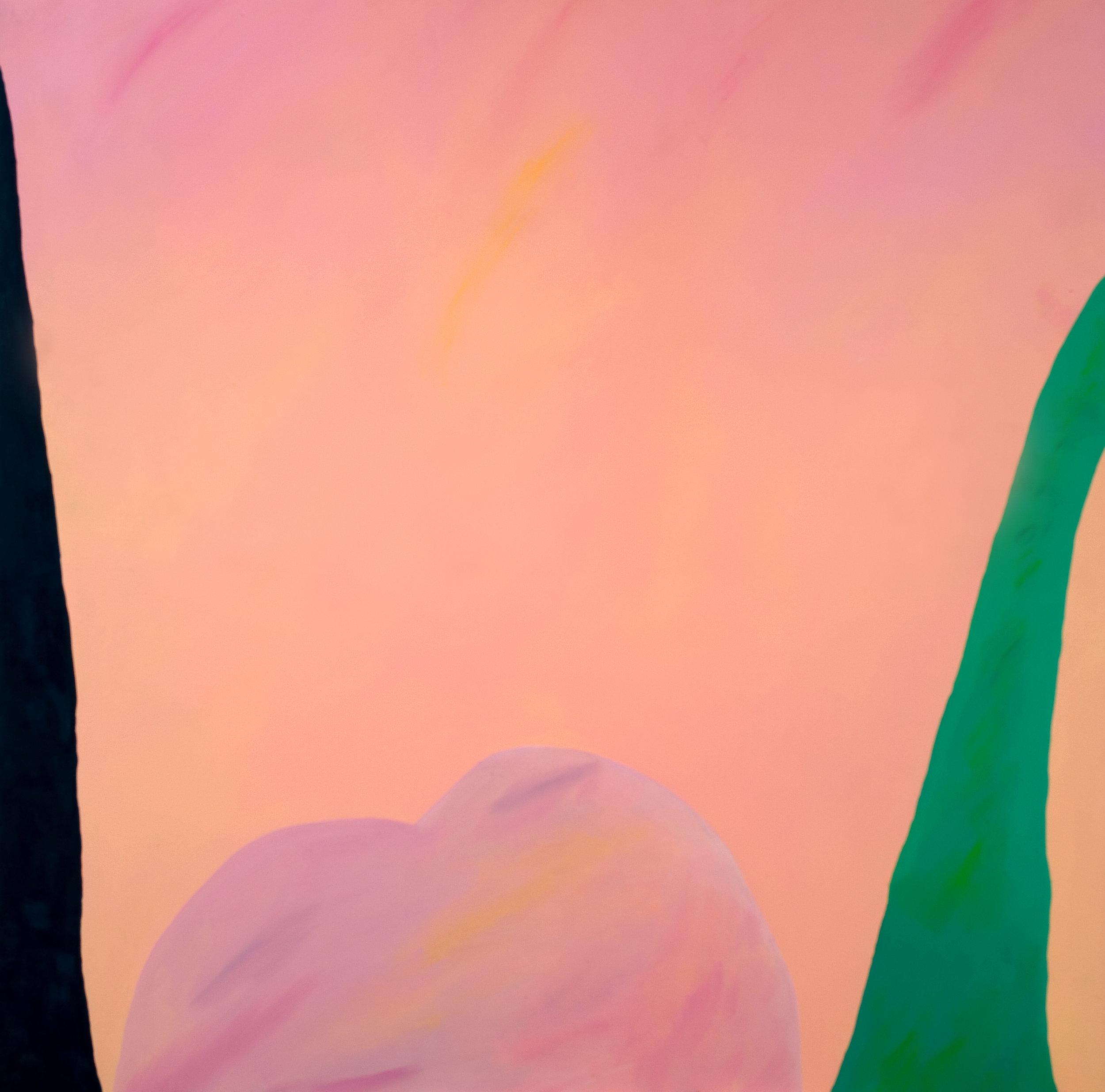 Paisagens imaginárias I | Era no verão | 1982 | liquitex sobre tela| 120 x 120 cm