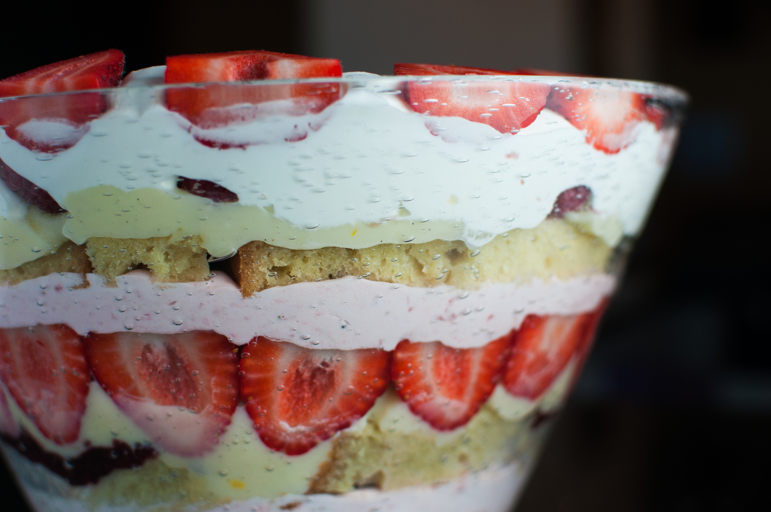 Almost Traditional English Trifle Toot Sweet