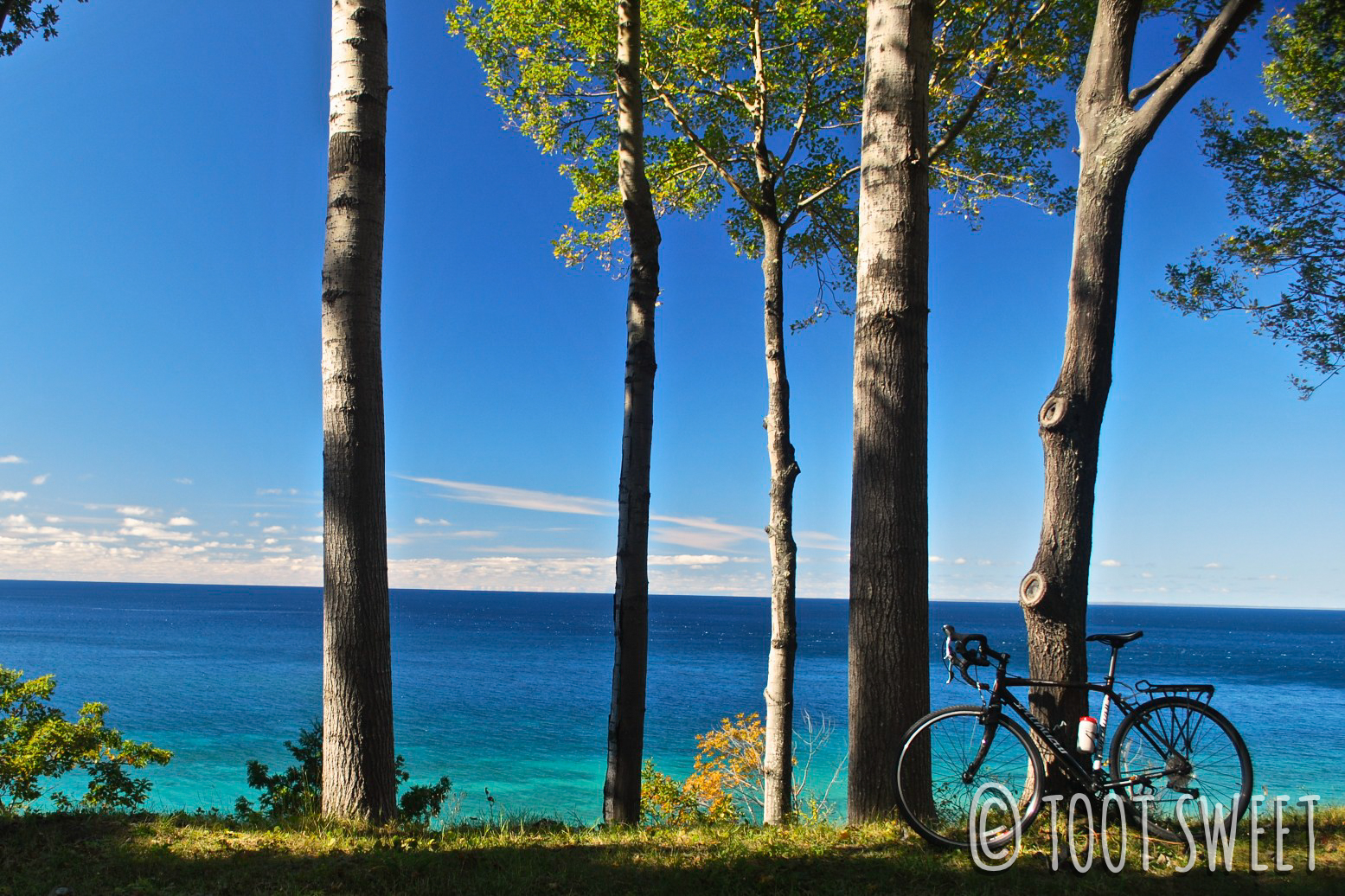 I sure am going to miss the crystal blue waters of Lake Michigan!
