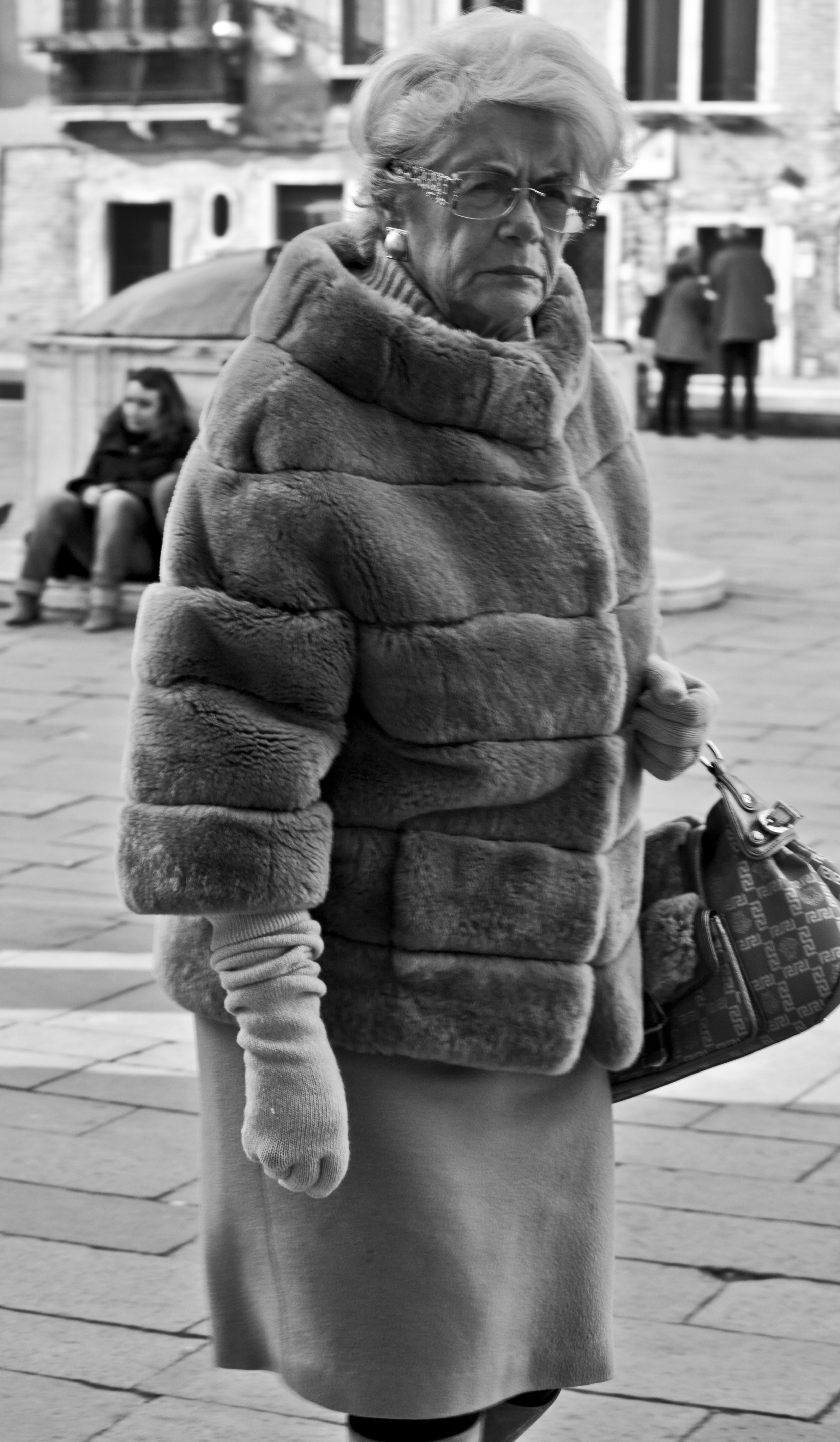 classy mean lady BW.jpg