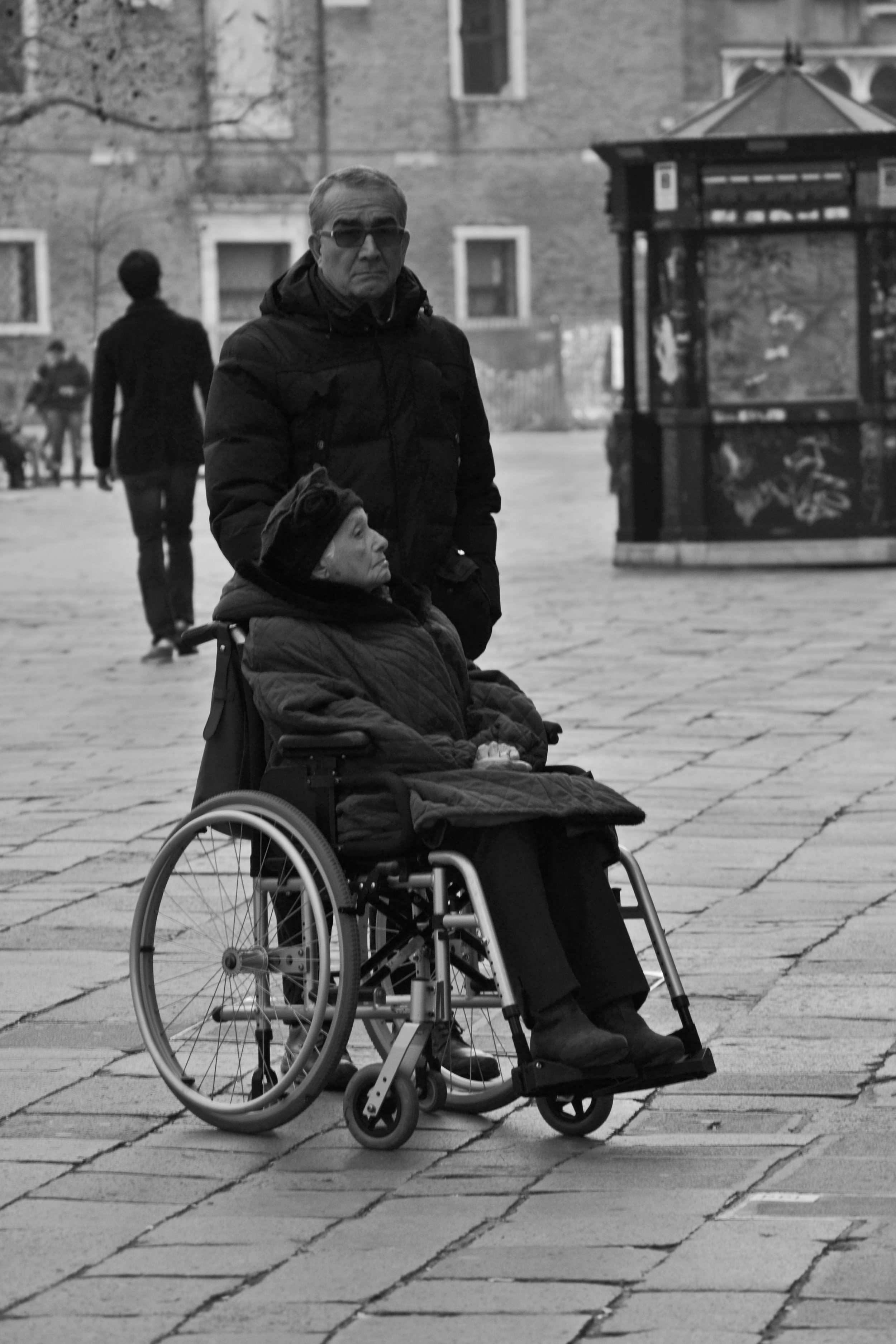 man and woman in wheelchairBW.jpg