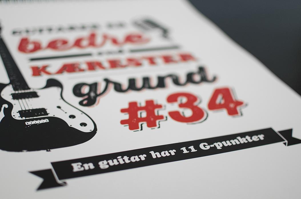 "Reason #34 - ""A guitar has 11 G-spots"""