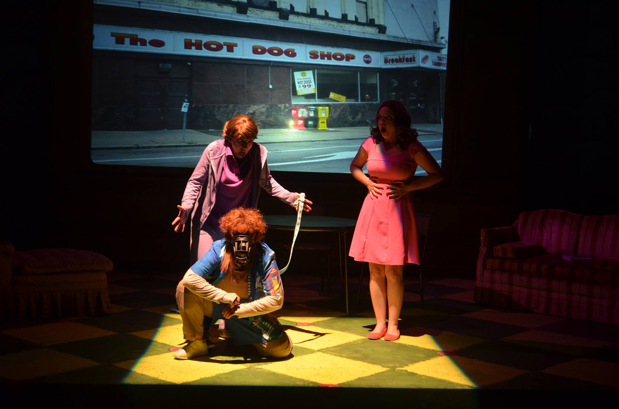 Hot Dog's USA Premiere withThinking Cap Theatre at Nova Southeastern University in Ft. Lauderdale, FL plays from 16 May - 1 June 2014