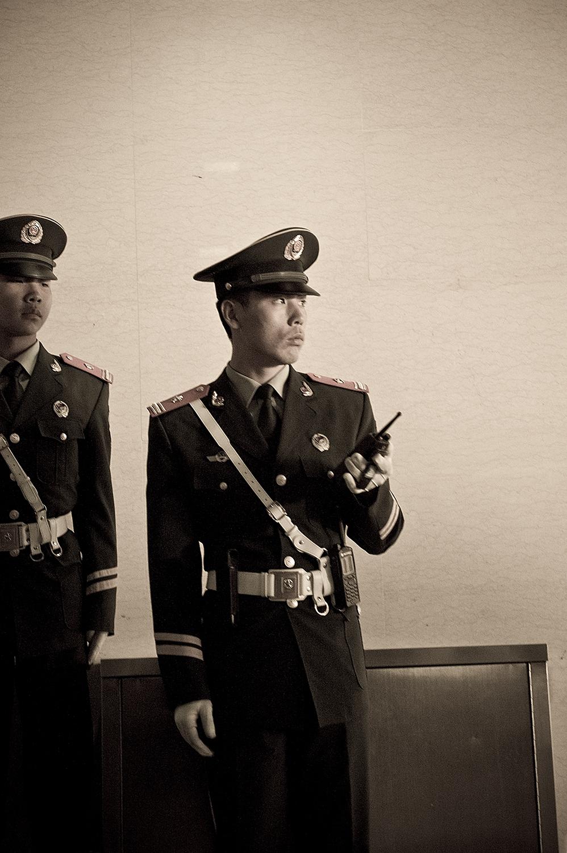 Guard at Forbidden City