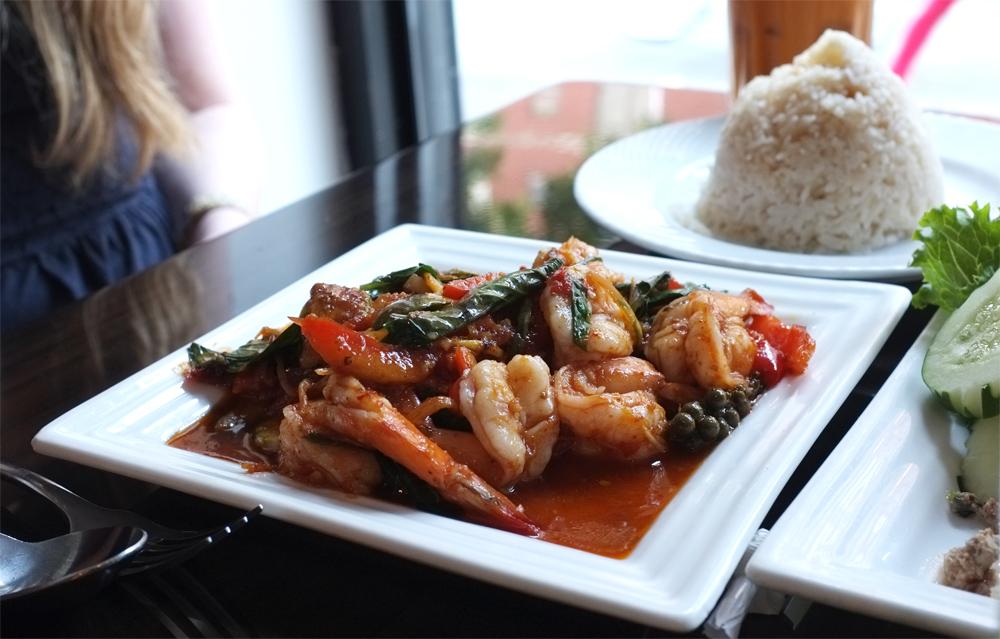 Shrimp Goong Curry